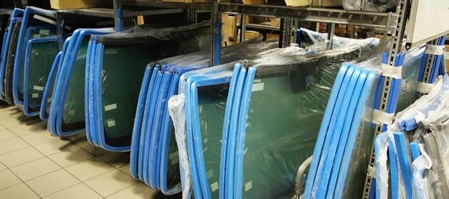 Wie Windschutzscheiben produziert werden